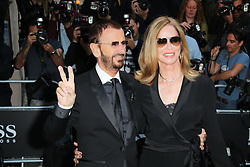 © Licensed to London News Pictures. 02/09/2014, UK. Ringo Starr; Barbara Bach GQ Men of the Year Awards, Royal Opera House Covent Garden, London UK, 02 September 2014. Photo credit : Richard Goldschmidt/Piqtured/LNP
