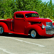 1941 Custom Chevrolet Pickup Truck on pavement