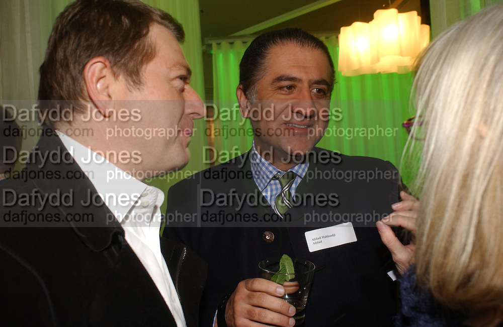 Alidad  Mahloudji , Launch of the House and Garden directory of the 100 Leading Interior Designers. Design Club, 3rd Floor. South Dome, Chelsea Harbour. London. 13 March 2006. ONE TIME USE ONLY - DO NOT ARCHIVE  © Copyright Photograph by Dafydd Jones 66 Stockwell Park Rd. London SW9 0DA Tel 020 7733 0108 www.dafjones.com