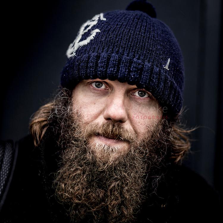 Nederland, groningen 20150115. Florian Jockel (39). Bezoeker ESNS festival . foto: Pepijn van den Broeke