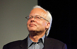 Ray Ozzie, Microsoft Chief Software Architect, participates in a panel discussion at the Computer History Museum in Mountain View, Calif.