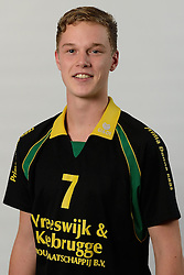 29-10-2014 NED: Selectie Prima Donna Kaas Huizen mannen, Huizen<br /> Selectie seizoen 2014-2015 / Sander Gommers