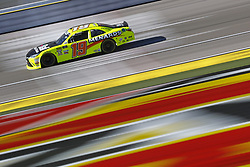 March 2, 2018 - Las Vegas, Nevada, United States of America - March 02, 2018 - Las Vegas, Nevada, USA: Brandon Jones (19) brings his race car down the front stretch during practice for the Boyd Gaming 300 at Las Vegas Motor Speedway in Las Vegas, Nevada. (Credit Image: © Chris Owens Asp Inc/ASP via ZUMA Wire)