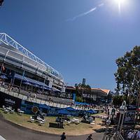 A general view outside of Rod Laver Arena day ten of the 2018 Australian Open in Melbourne Australia on Wednesday January 24, 2018.<br /> (Ben Solomon/Tennis Australia)