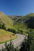 Road from Caniilo village to Ordino Village, Andorra, Europe