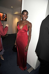 Beijing Olympic Gold medal winning 400m runner CHRISTINE OHURUOGU at the GQ Men of the Year Awards held at the Royal Opera House, London on 2nd September 2008.<br /> <br /> NON EXCLUSIVE - WORLD RIGHTS