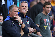 Blackburn Rovers manager Owen Coyle during the EFL Sky Bet Championship match between Blackburn Rovers and Burton Albion at Ewood Park, Blackburn, England on 20 August 2016. Photo by Simon Brady.