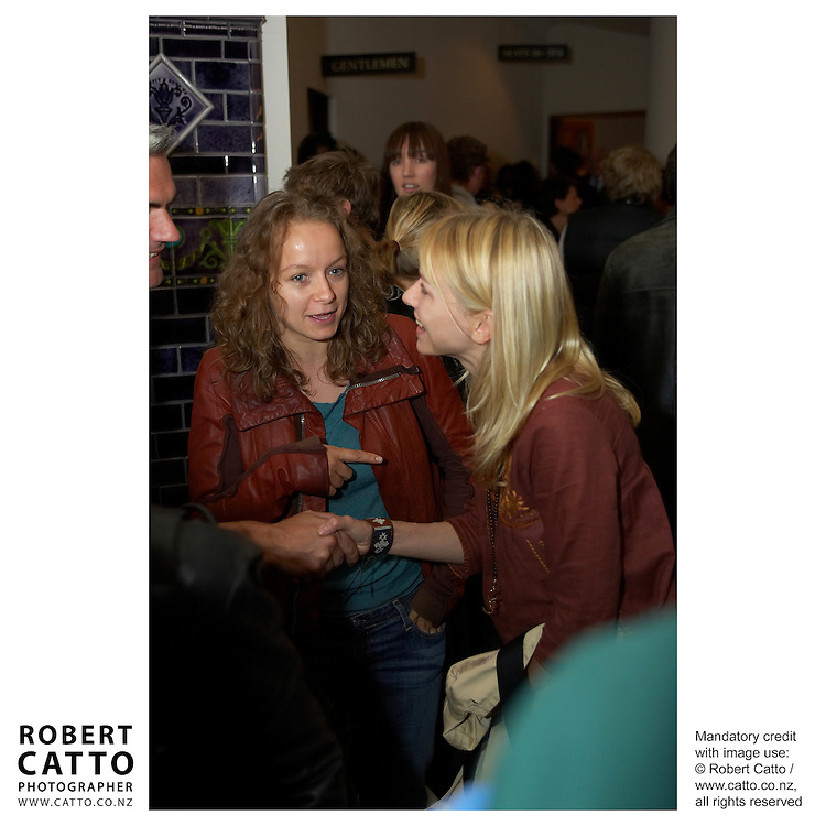 Samantha Morton;Naomi Watts at the Premiere of short film Tama Tu at the Embassy Theatre, Wellington, New Zealand.<br />
