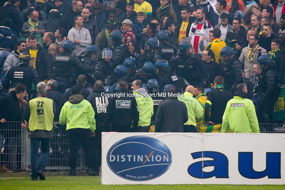 Supporters PSG - 03.05.2015 - Nantes / Paris Saint Germain - 35eme journee de Ligue 1<br />Photo : Vincent Michel / Icon Sport
