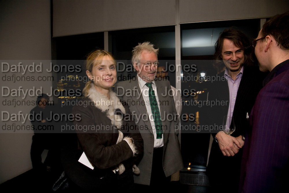 MARYAM D'ABO; HUGH HUDSON; IVOR BRAKA, Rodchenko and Popova: Defining Constructivism. Tate Modern. London. 10 February 2009 *** Local Caption *** -DO NOT ARCHIVE -Copyright Photograph by Dafydd Jones. 248 Clapham Rd. London SW9 0PZ. Tel 0207 820 0771. www.dafjones.com<br /> MARYAM D'ABO; HUGH HUDSON; IVOR BRAKA, Rodchenko and Popova: Defining Constructivism. Tate Modern. London. 10 February 2009