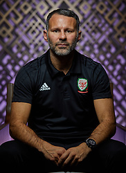 NANNING, CHINA - Friday, March 23, 2018: Wales' new manager Ryan Giggs poses for a portrait on day four of the 2018 Gree China Cup International Football Championship at the Wanda Realm Resort. (Pic by David Rawcliffe/Propaganda)