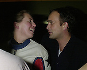 Max Wigram. ( right) Lady Victoria Hervey party. Saint Martins Lane Hotel. 12 December 2000 © Copyright Photograph by Dafydd Jones 66 Stockwell Park Rd. London SW9 0DA Tel 020 7733 0108 www.dafjones.com