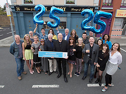 Repro Free: 15/09/2014 <br /> Members of RT&Eacute; One&rsquo;s Fair City cast are pictured on the set of Fair City to celebrate its 25th anniversary and pay tribute to Ireland&rsquo;s most popular and longest running soap. Picture Andres Poveda