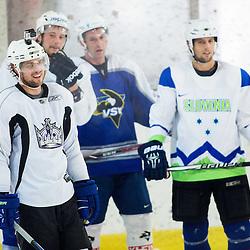 20140903: SLO, Ice Hockey - Practice session of Anze Kopitar, LA Kings
