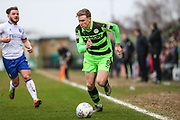 Forest Green Rovers Dayle Grubb(8) during the EFL Sky Bet League 2 match between Forest Green Rovers and Mansfield Town at the New Lawn, Forest Green, United Kingdom on 24 March 2018. Picture by Shane Healey.