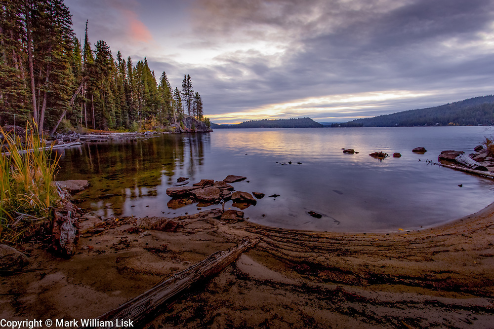 North Shore of Payette Lake, McCall Idaho.
