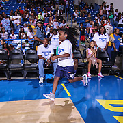 Trinitee Stokes who plays Judy Cooper on Disney Channel's K.C. Undercover participates in The 2015 Duffy's Hope Celebrity Basketball Game Saturday, August 01, 2015, at The Bob Carpenter Sports Convocation Center, in Newark, DEL.    <br /> <br /> Proceeds will benefit The Non-Profit Organization Duffy's Hope Youth Programming.