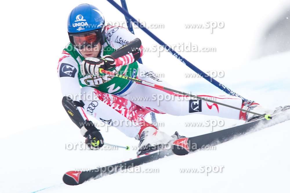 24.10.2010, Rettenbachferner, Soelden, AUT, FIS World Cup Ski Alpin, Men, 1st run, im Bild Benjamin Raich, AUT, Ski Atomic, #2, EXPA Pictures © 2010, PhotoCredit: EXPA/ J. Groder