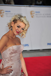 © licensed to London News Pictures. London, UK  22/05/11 Sheridan smith attends the BAFTA Television Awards at The Grosvenor Hotel in London . Please see special instructions for usage rates. Photo credit should read AlanRoxborough/LNP