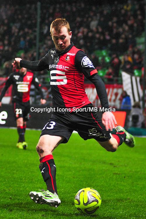Christian Bruls  - 18.01.2015 - Rennes / Saint Etienne - 21eme journee de Ligue 1 - <br /> Photo : Philippe Le Brech / Icon Sport