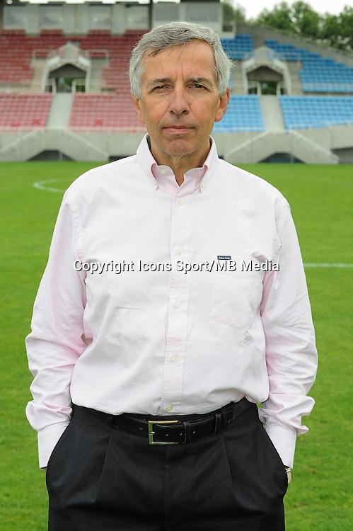 Claude MICHY - 30.07.2014 - Portraits officiels Clermont - Ligue 2<br /> Photo : Jean Paul Thomas / Icon Sport