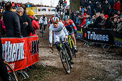 HYDE Stephen (USA) during the Men Elite race, UCI Cyclo-cross World Cup #8 at Hoogerheide, Noord-Brabant, The Netherlands, 22 January 2017. Photo by Pim Nijland / PelotonPhotos.com | All photos usage must carry mandatory copyright credit (Peloton Photos | Pim Nijland)