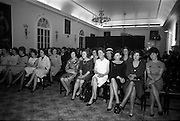 23/11/1964<br /> 11/12/1964<br /> 23 November 1964<br /> <br /> 19 Sales Girls from various parts of Ireland, at a Presentation in the Royal Hibernian Hotel <br /> <br /> General View of the Winners