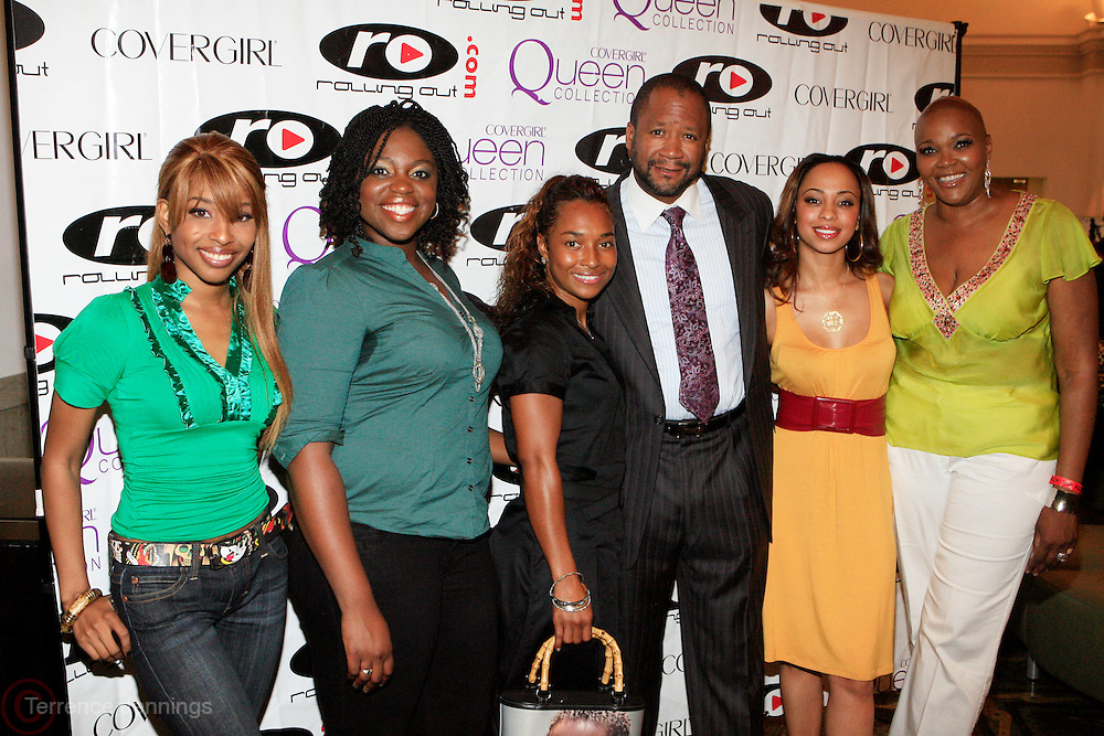 "Necole Bitchie, Laureen Delance, Rozonda ""Chilli"" Thomas, Munson Steed, Caryn Ward, and Marcia Quinn at Cover Girl and Rolling Out Urbanstyle Weekly host "" Creative Success"" The Female Success Factor, an entrepreneurship seminar designed for women held at Brooklyn Academy of Music(BAM) on June 21, 2008..In collaboration with CoverGirl Queen Collection, Female Success Factor will highlight winners of the Every Woman is a Queen online model casting call."