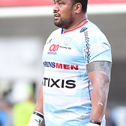 Census Johnson of Racing 92 during the Top 14 match between Racing 92 and Oyonnax  at  on September 17, 2017 in Colombes, France. (Photo by Dave Winter/Icon Sport)