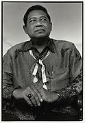 Soon to be President of Indonesia, Susilio Bambang Yudhoyono (SBY) Jakarta Indonesia August 2004