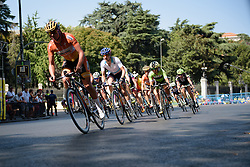 UCI Women's WorldTour leader, Megan Guarnier (Boels Dolmans) at Madrid Challenge by La Vuelta an 87km road race in Madrid, Spain on 11th September 2016.