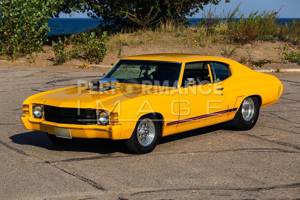 1971 Chevrolet Chevelle 2 Door Hart Top