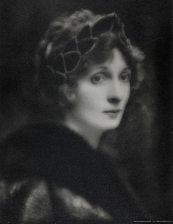 Lady Hazel Lavery, artist and socialite, wife of Sir John Lavery, Ireland, 1914