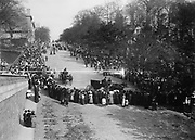 Photo shows funeral procession of John Jacob Astor IV (1864-1912), who died with the sinking of the Titanic.
