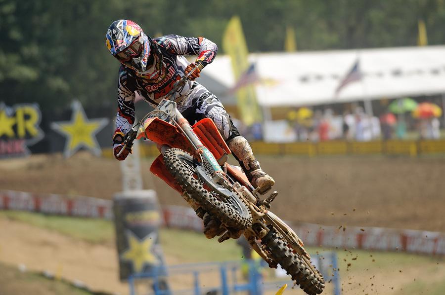 2011 AMA Motocross Nationals.Steel City Raceway.Delmont, Pennsylvania.September 3, 2011
