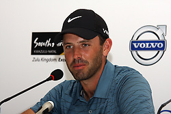 DURBAN - 8 January 2013 - Top ranked South African golfer Charl Schwartzel speak about his chances at the Volvo Golf Champions in Durban at a press conference. The tournament starts on January 9 and finishes on January 12. Picture: Allied Picture Press/APP