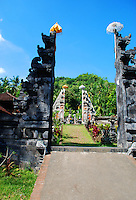 A temple near Manngis in Bali, Indonesia.