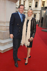 NADJA SWAROVSKI and her husband RUPERT ADAMS at the Royal Academy of Art Summer Exhibition Preview Party on 4th June 2008.<br />