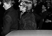 The Rolling Stones Charlie is my Darling - Ireland 1965 - Rolling Stones manager Andrew Loog Oldham arriving at The Rolling Stones press conference at the Adelphi Theatre, Middle Abbey Street, Dublin. This was the band's first Irish tour of 1965....07/01/1965.01/07/1965.07 January 1965...The Rolling Stones Charlie is my Darling - Ireland 1965.Out November 2nd from ABKCO.Super Deluxe Box Set/Blu-ray and DVD Details Revealed. .ABKCO Films is proud to join in the celebration of the Rolling Stones 50th Anniversary by announcing exclusive details of the release of the legendary, but never before officially released film, The Rolling Stones Charlie is my Darling - Ireland 1965.  The film marked the cinematic debut of the band, and will be released in Super Deluxe Box Set, Blu-ray and DVD configurations on November 2nd (5th in UK & 6th in North America).. .The Rolling Stones Charlie is my Darling - Ireland 1965 was shot on a quick weekend tour of Ireland just weeks after ?(I Can't Get No) Satisfaction? hit # 1 on the charts and became the international anthem for an entire generation.  Charlie is my Darling is an intimate, behind-the-scenes diary of life on the road with the young Rolling Stones featuring the first professionally filmed concert performances of the band's long and storied touring career, documenting the early frenzy of their fans and the riots their live performances incited.. .Charlie is my Darling showcases dramatic concert footage - including electrifying performances of ?The Last Time,? ?Time Is On My Side? and the first ever concert performance of the Stones counterculture classic, ?(I Can't Get No) Satisfaction.?  Candid, off-the-cuff interviews are juxtaposed with revealing, comical scenes of the band goofing around with each other. It's also an insider's glimpse into the band's developing musical style by blending blues, R&B and rock-n-roll riffs, and the film captures the spark about to combust into The Greatest Rock and Roll Band in the World.. .