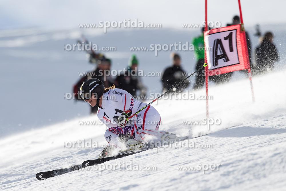 19.10.2012, Rettenbachferner, Soelden, AUT, OeSV, interne Qualifikationslauefe, im Bild Ramona Siebenhofer (AUT) // Ramona Siebenhofer of Austria during Qualifying of the Austrian Ski Team 'OeSV' at Rettenbachferner in Soelden, Austria on 2012/10/19. EXPA Pictures © 2012, PhotoCredit: EXPA/ J. Groder