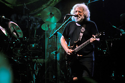 Jerry Garcia playing and singing with The Grateful Dead. 1 October 1994 Boston Garden