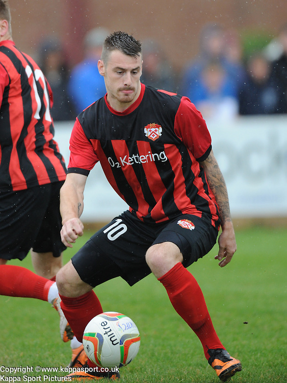 Josh Moreman, Kettering Town, Kettering Town v Daventry Town Southern League Division One Central, 25th August 2014