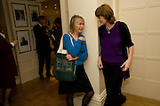 EMILY READ; VIRGINIA FRASER, Grandmothers United for ASAP. Vogue House. Hanover Sq. London. 22 October 2008 *** Local Caption *** -DO NOT ARCHIVE -Copyright Photograph by Dafydd Jones. 248 Clapham Rd. London SW9 0PZ. Tel 0207 820 0771. www.dafjones.com