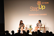 Channing Dungey and Regina Hall attend Step Up's 14th Annual Inspiration Awards at the Beverly Wilshire Four Seasons Hotel on June 1, 2018 in Beverly Hills, California.