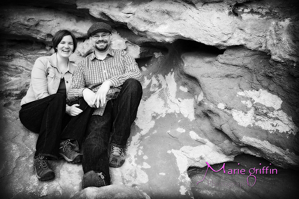 Katie Elliott and Garrett Smith engagement photos at Red Rocks in Morrison Colorado on March 16, 2012.<br /> By: Marie Griffin Dennis<br /> mariefgriffin@gmail.com<br /> mariegriffinphotography.com