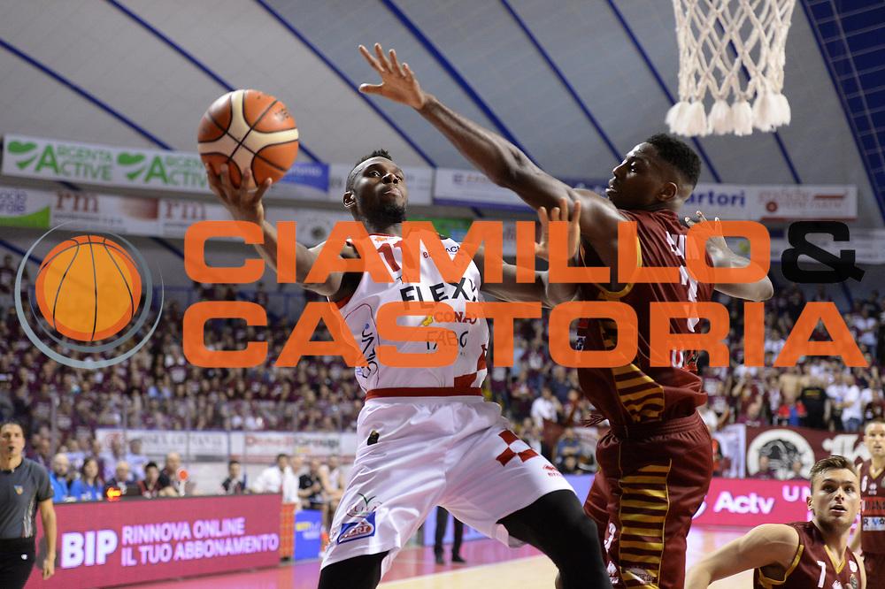 Eric Lombardi<br /> Umana Reyer Venezia - The Flexx Pistoia <br /> Lega Basket Serie A 2016/2017<br /> Venezia 13/05/2017<br /> Foto Ciamillo