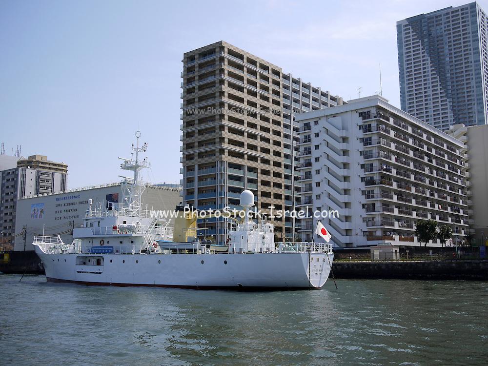 Japan, Tokyo harbour