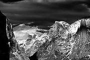 Winter Landscape photographs of Yosemite National Park, CA, USA