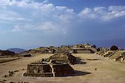 Monte Alban zapotec ceremonial center (1500 B.C-A.D. 1400).