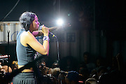 Princess Nokia performing at the Red Bull Sound Select at Rough Trade in New York City on July 15, 2014.